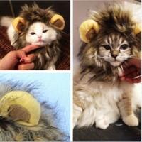 Baju Kucing Anjing / Wig Kucing Anjing / Rambut Singa / Wig Singa