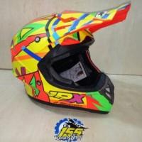 Helm cross jpx rossi doff