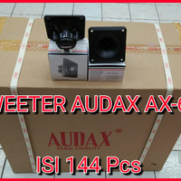 Tweeter Speaker Walet AUDAX AX-61 Suara Inap ORIGINAL (1Dus)