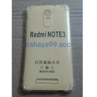 Softcase anticrack xiaomi Redmi Note 3 / anti crack knock shock bentur
