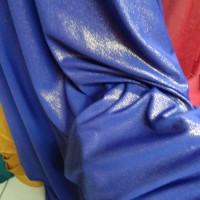 kain-bahan spandek sutra gliter metalik - Abu-abu
