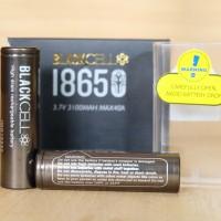 authentic baterai battery 18650 blackcell 3100mah not awt LG hg2 sony