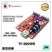 CONTROLLER TF-S6UW0 (PENGGANTI TF-SW) RUNNING TEXT USB + WIFI - J14