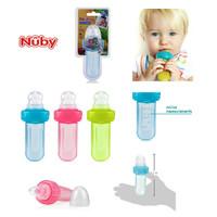 Nuby EZ Squee-Z Mini Squeeze Feeder Botol Sendok Jaring Buah Bayi