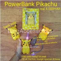 power bank pokemon pikachu 6000mAh ( lucu unik karakter avenger )