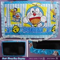 Cover TV,bando TV,Tutup TV LED/LCD motif Doraemon bELL