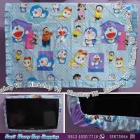 Cover TV,bando TV,Tutup TV LED/LCD motif Doraemon Friend
