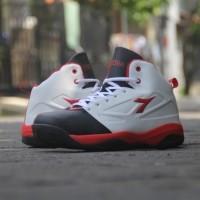 new sepatu basket diadora dribling white original asli murah