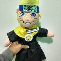 (Dijamin) Boneka Wisuda Naruto 50cm packing Mika