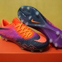 Sepatu Bola Soccer Nike Hypervenom II Floodlights Vivid Purple FG