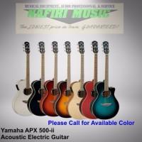 Gitar Yamaha APX500II APX 500II APX 500 II Original dan Resmi terlar