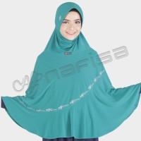 Nafisa Aqila | Jilbab Instan Syar'i | Kerudung Bergo Bordir Premium