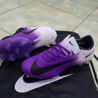 Sepatu Bola Nike Terbaru Original Mercurial Vapor XI FG - Purple White