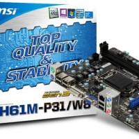 MSI H61M-P31/W8, LGA 1155 (Diskon)
