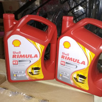 Oli Shell Helix Rimula R2 SAE 40 Galon (5 Liter) Original