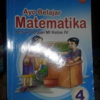 buku ayo belajar matematika kls 4 sd penerbit bse ktsp