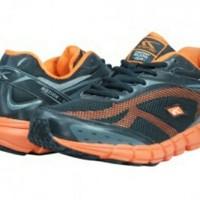 Sepatu Sport Running - Dynamo (Black/Orange) - Spotec