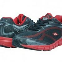 Sepatu Sport Running - Dynamo (Black/Red) - Spotec