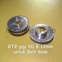Timing Pulley GT2 60 Teeth Bore 12mm 2GT 60T