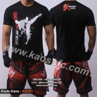 Kaos Taekwondo- Baju TKD- T Shirt Tae Kwon Do KB261