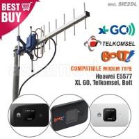 Antena Yagi TXR145 Modem Huawei E5577 XL GO TSEL BOLT Dual Pigtail