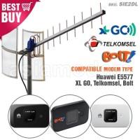 Antena Yagi TXR175 Modem Huawei E5577 XL GO Telkomsel Bolt Dua Pigtail
