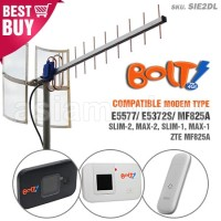 Antena Yagi TXR175 Modem BOLT SLIM MAX Huawei E5372S E5577 Dua Pigtail