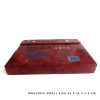 Meja Set Mahyong/Mahjong/Mahcyok Real Game Mahyong Small Size
