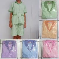 Baju Seragam Suster Sizs XXL Celana Pendek Kulot / Seragam Baby Sitter