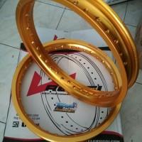 Velg rossi 160 185 ring 17 warna gold  wm kotak Bukan TK Comet TDR