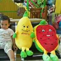 bantal boneka pisang atau semangka jumbo