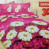 Badcover Set Bonita Uk 180x200 Motif Gardenia