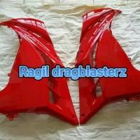 fairing atas / samping merah ninja 250 fi original kawasaki