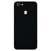 UMAXNEED Skin Garskin Protector Oppo F5 Black Carbon