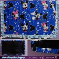 Cover TV,bando TV,Tutup TV LED/LCD motif Blue Mickey Minnie