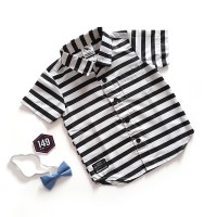 Baju Anak Bayi Laki Laki Keren Tapi Tetep Cute Line White Black