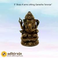 Rupang Patung Arca Dewa Ganesha Ganesa Kuningan 5