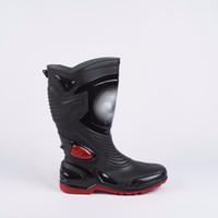 B Sepatu Karet PVC Anti Tembus Air Banjir Hujan AP BOOTS MOTO 3 MOTO3