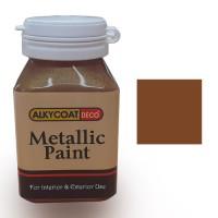 Alkycoat Deco Metallic Paint Cat Dekoratif Metalik 100g G877 (COKLAT)