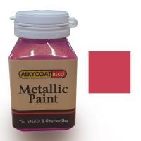Alkycoat Deco Metallic Paint Cat Dekoratif Metalik 100g G882 (Merah)