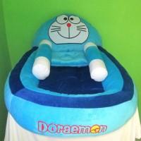kasur boneka bayi karakter doraemon +bantal dan guling