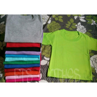 Kaos Anak Polos 0-1thn Size 0   Kaos Bayi Polos   Baju Bayi   Kaos Bay