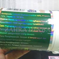 TERBARU LECITHIN SOFTGEL GREEN WORLD/OBAT KOLESTEROL/STROKE/JANTUNG/KE