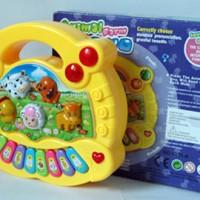 Mainan Bayi Animal Farm Piano