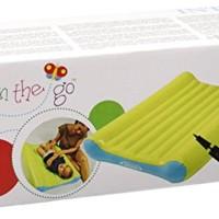 Intex Baby Bed Change Mat Set + Pompa Angin Manual. Matras Bayi
