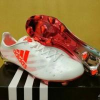 Sepatu Bola Adidas Adizero F50 99 Gram White Solar Red - FG