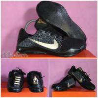 Promo Sepatu Basket Pria Nike kobe 11 mentality hitam ringan anti lici
