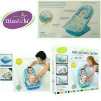 Mastela Deluxe Baby Bather/Kursi Mandi Bayi/Kado Lahiran/Hadiah