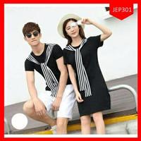 PROMO COUPLE Dress Couple Salur Korea/Dress Couple/Baju couple/Kaos Co
