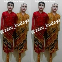 Baju Adat Sunda Anak Cewe /Pakaian Adat Sunda Anak Cewe (Jawa Barat)